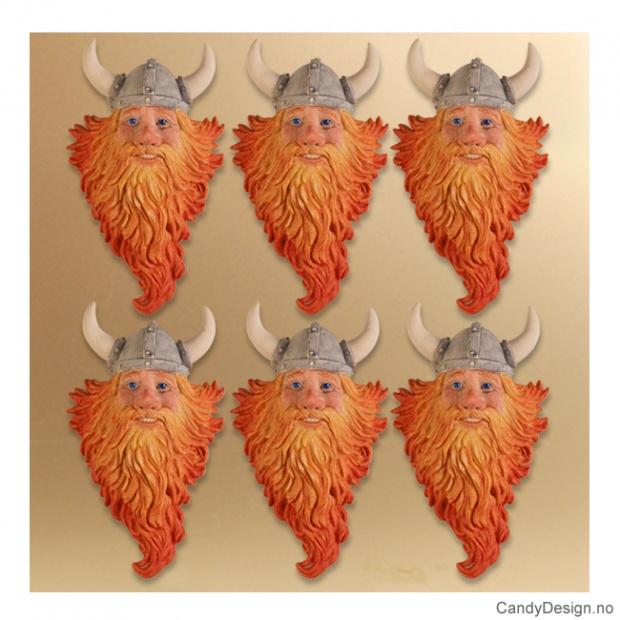 Vikinghode suvenirmagnet