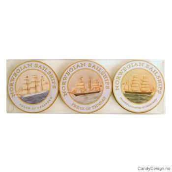 Coasters - Runde seilskip