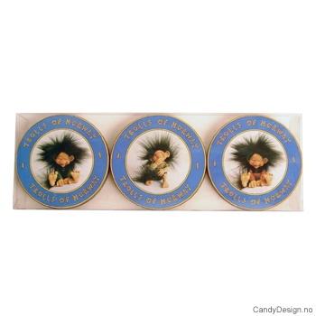 Coasters - Blå troll