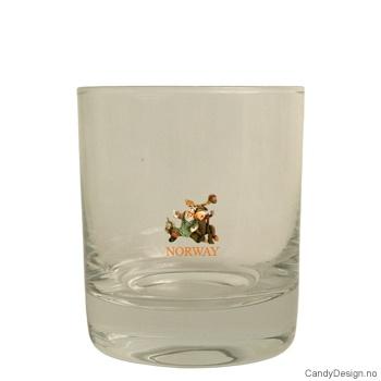 Whiskey glass - Jeger og elg