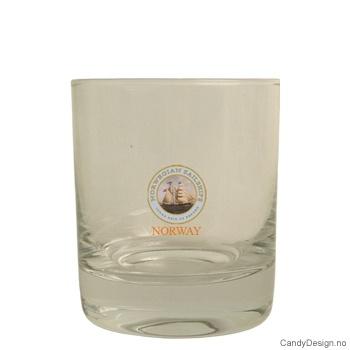 Whiskey glass - Seilskip