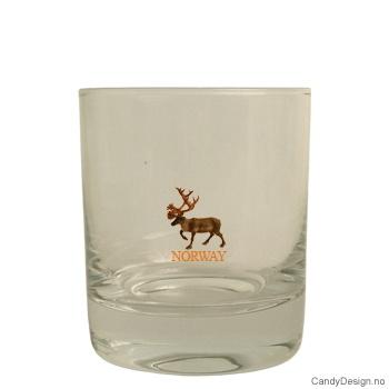 Whiskey glass - Reinsdyr