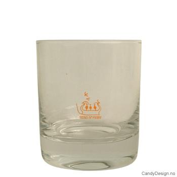 Whiskey glass - Runde vikingskip