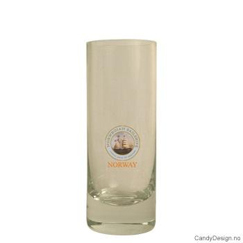 Høyt shotglass - Seilskip