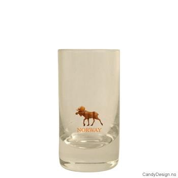 Lavt shotglass - Elg