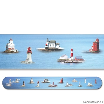Lighthouses suvenir neglefil