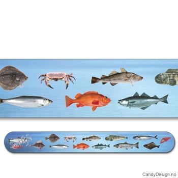 Sealife suvenir neglefil (fisk)