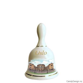 Store suvenir bjeller med Oslo motiv  Stortinget