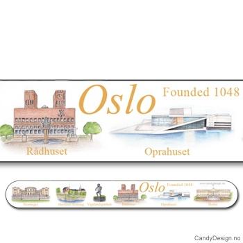 Neglefiler med Oslo