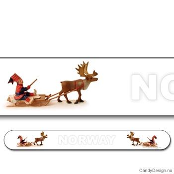 Neglefiler med reinsdyr