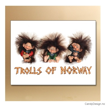 Trolls of Norway metallmagneter
